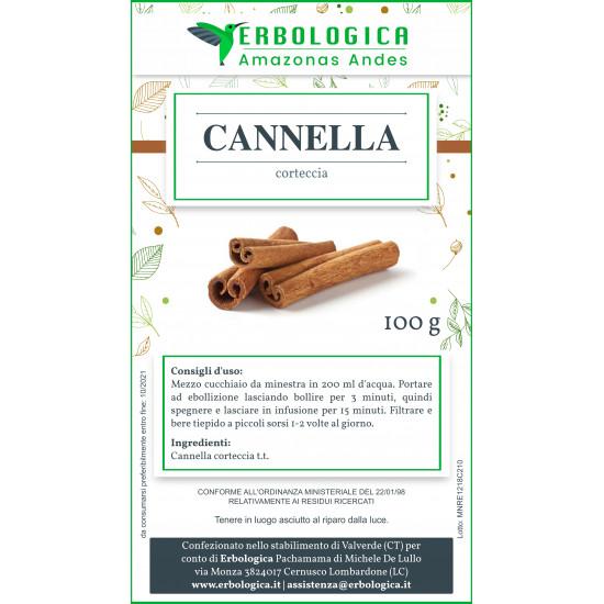 Cannella ceylon corteccia 100 grammi