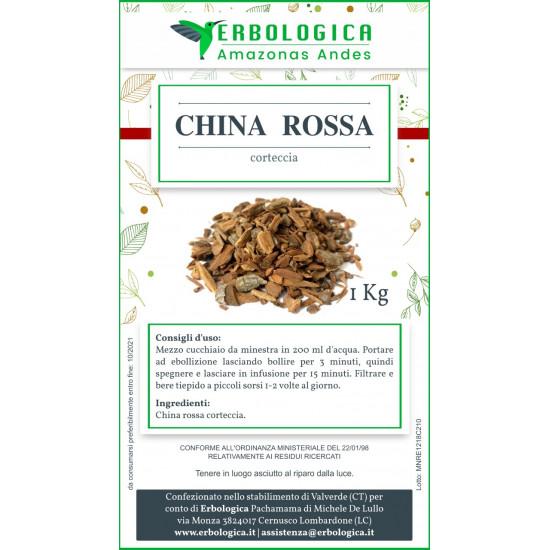 China corteccia rossa tisana 500 grammi
