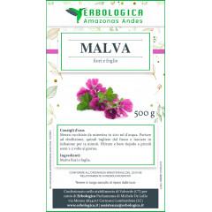 Malva fiori e foglie tisana 500 grammi