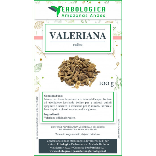 Valeriana tisana 500 grammi