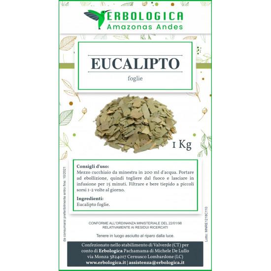Eucalipto foglie tisana 500 grammi
