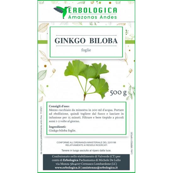 Ginkgo Biloba tisana 500 grammi