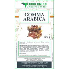 Gomma arabica in polvere 500 grammi