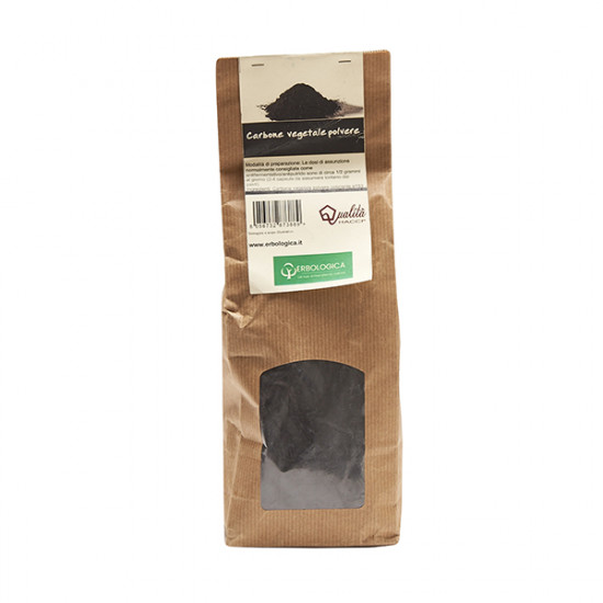 Carbone vegetale polvere