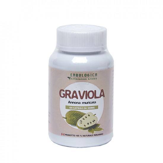 Graviola in capsule ( 120 da 500 grammi)