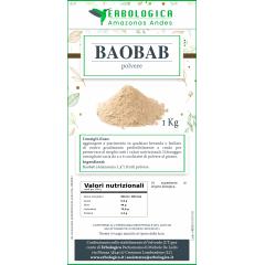 Baobab in polvere confezione da 1kg