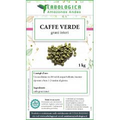 Caffe verde in grani confezione da 1 kg
