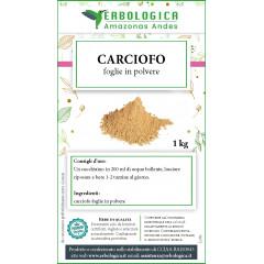 Carciofo foglie in polvere formato da 1 kg