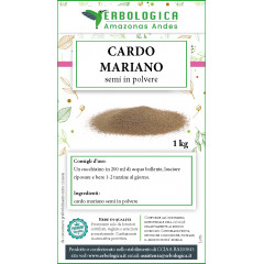 Cardo mariano semi in polvere 1 kg