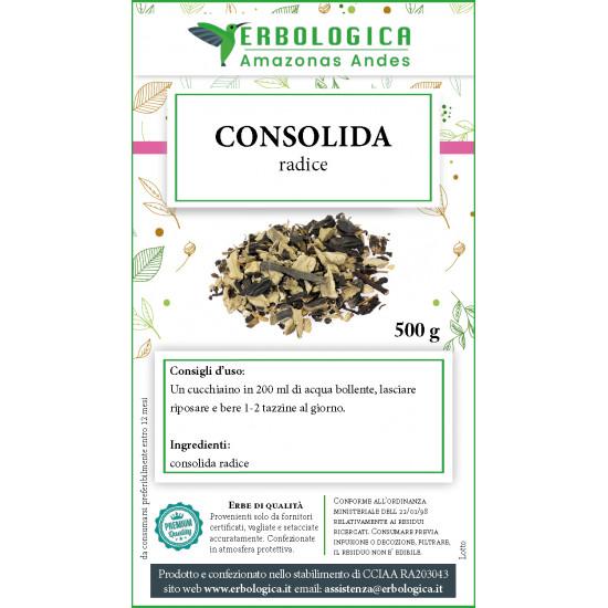 Consolida radice tisana 500 grammi