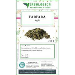 Farfara foglie taglio tisana 500 grammi