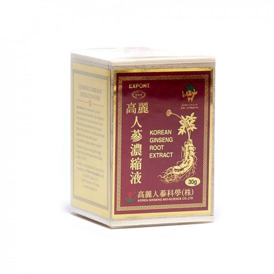 Ginseng coreano estratto puro 30 grammi
