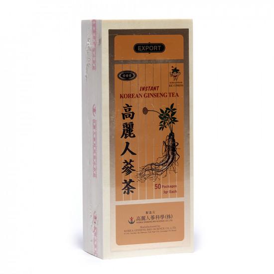 Ginseng Coreano tè solubile 50 bustine