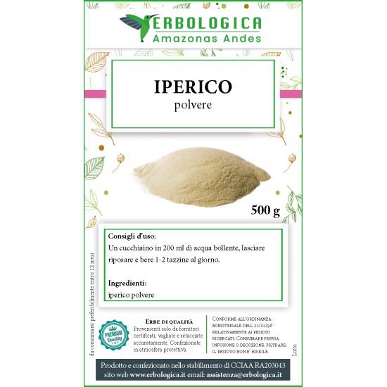 Iperico polvere tisana 500 grammi