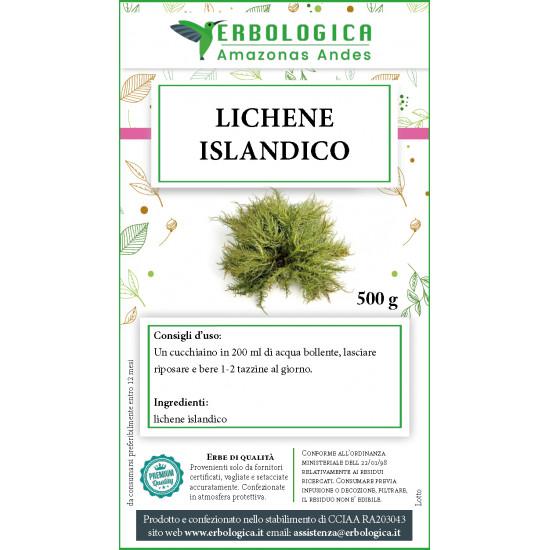 Lichene Islandico taglio tisana 500 grammi