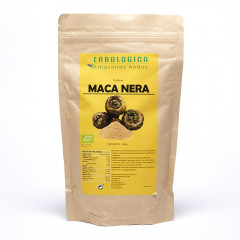 Maca nera in polvere, 500 grammi, originale peruviana 100% naturale.