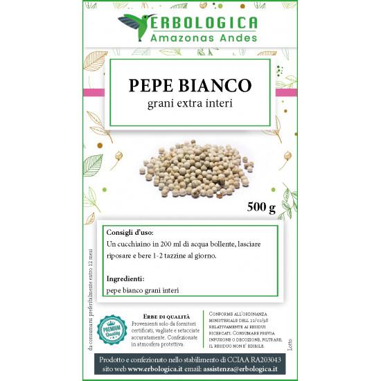 Pepe bianco in grani 500 grammi
