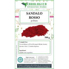 Sandalo rosso in polvere tisana 500 grammi