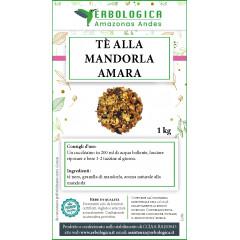 Tè aromatizzato con pezzetti di mandorla amara confezione da 1 kg