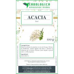 Acacia fiori tisana 100 grammi