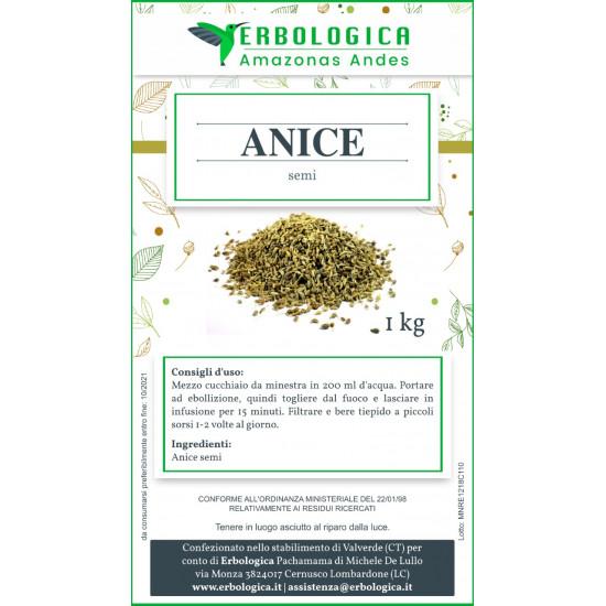 Anice semi verdi confezione da 1 kg