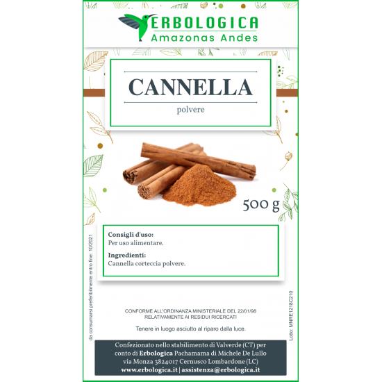 Cannella in polvere 500 grammi