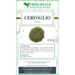 Cerfoglio tisana 100 grammi