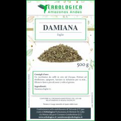 Damiana tisana 500 grammi