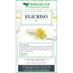 Elicriso fiori tisana 100 grammi