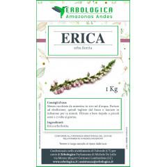 Erica erba fiorita tisana 1 kg