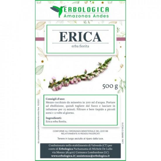 Erica erba fiorita tisana 500 grammi