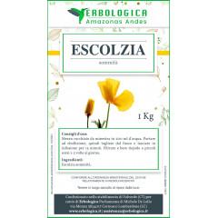 Escolzia pianta taglio tisana formato da 1 kg