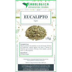 Eucalipto foglie tisana formato da 1 kg