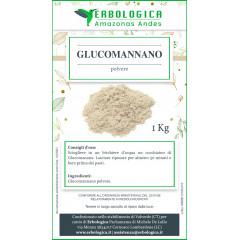 Glucomannano radice polvere formato da 1 kg