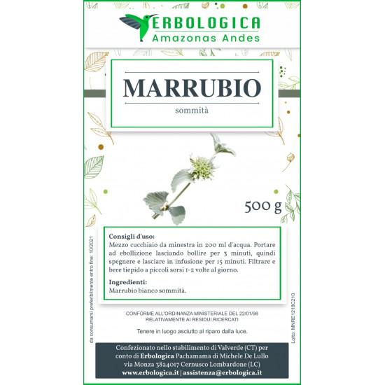 Marrubio pianta taglio tisana 500 grammi