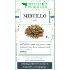 Mirtillo foglie taglio tisana confezione da 1 kg