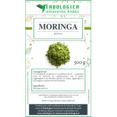 Moringa in polvere 500 grammi