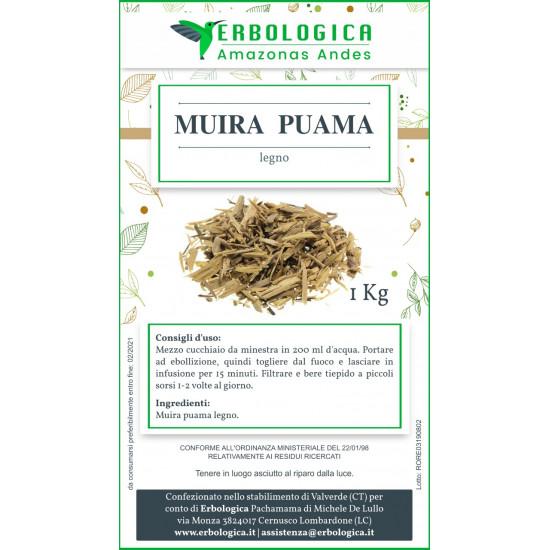 Muira puama tisana confezione da 1 kg