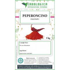 Peperoncino in polvere spezia confezione da 1 kg