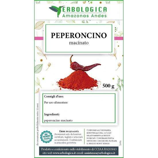 Peperoncino in polvere spezia 500 grammi