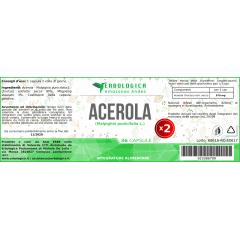 Acerola estratto in capsule ( 2 confezioni da 36)