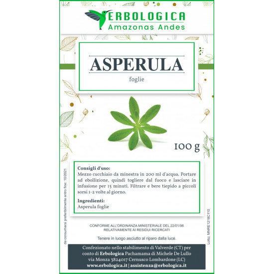 Asperula odorosa taglio tisana 500 grammi