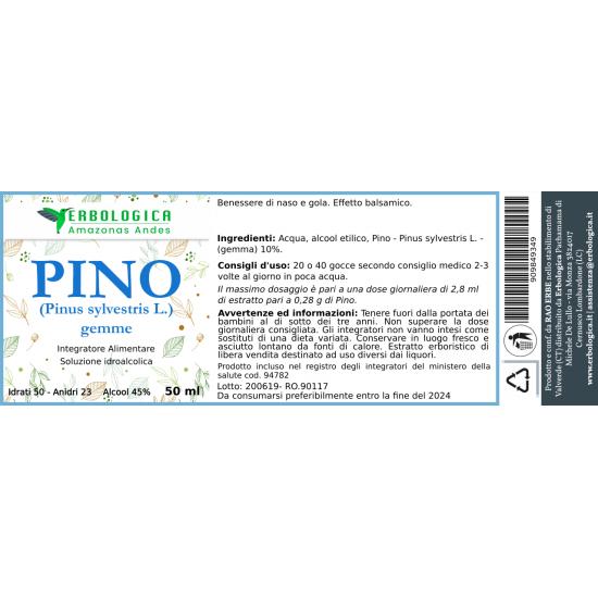 Soluzione idroalcolica Pino Silvestre 50 ml