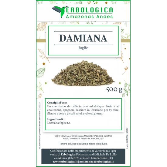 Damiana tisana 100 grammi