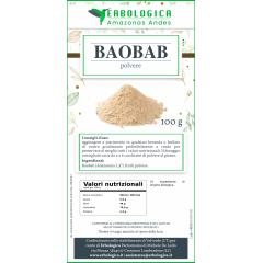 Baobab in polvere 100 grammi