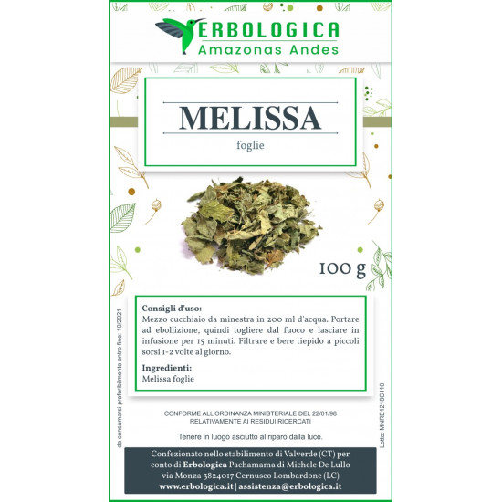 Melissa tisana 500 grammi