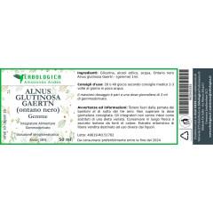 Ontano nero gemme soluzione idrogliceralcolica 50 ml
