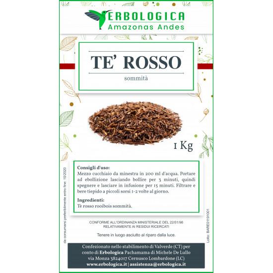 Tè rosso rooibois 500 grammi