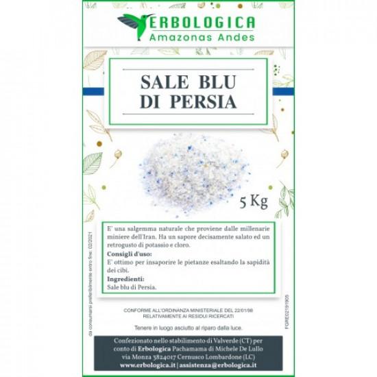 Sale blu, sacco da 5 kg, sale raro per gourmet