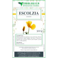 Escolzia pianta taglio tisana 500 grammi